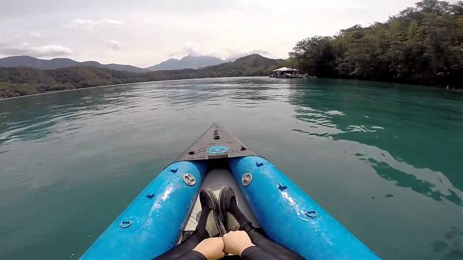 Sun Moon Lake kayak tour